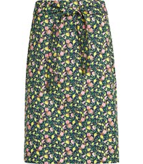 women's 1901 stretch cotton pencil skirt, size 10 - blue