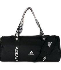 maletín negro-blanco adidas performance 4a thl ts duf s