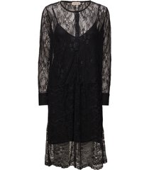 taniah korte jurk zwart custommade