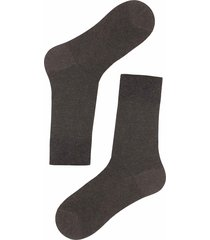 calzedonia - short socks with cashmere, 42-43, brown, men