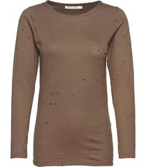 philipa t-shirts & tops long-sleeved bruin rabens sal r