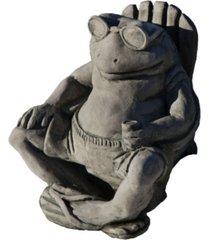 campania international bud on the beach garden statue