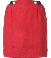 andreas kronthaler for vivienne westwood eiir oversized skirt - red