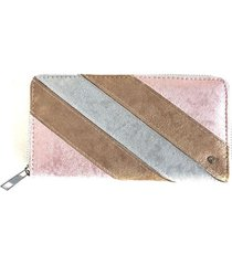 billetera diagonal rosado i-d