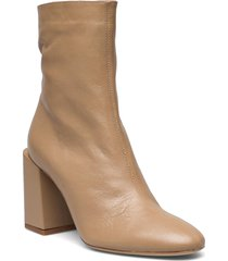 furla block shoes boots ankle boots ankle boot - heel brun furla