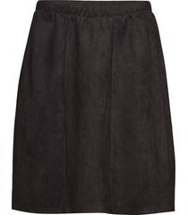 xsui, abk, skirt kort kjol svart zizzi