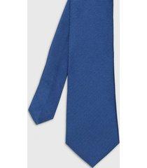corbata formal jacquard azul medio trial