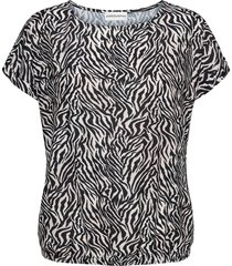 &co woman top t0135-a zebra