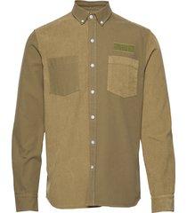 claw shirt - olive overhemd casual groen forét