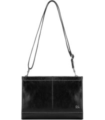 the sak women's iris leather crossbody clutch