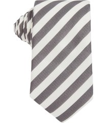boss men's medium grey tie