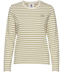 moa long sleeve t-shirts & tops long-sleeved crème wood wood