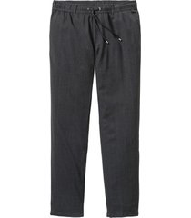 pantaloni in misto lana regular fit tapered (grigio) - rainbow