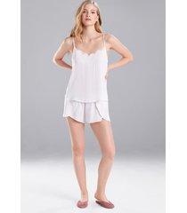fairytale pajamas, women's, white, size l, josie