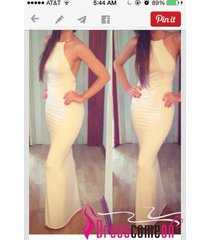 evening gown,party dress,simple sheath halter backless white satin prom dresses
