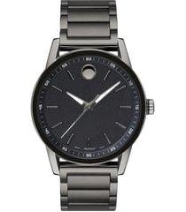men's movado museum sport bracelet watch, 42mm