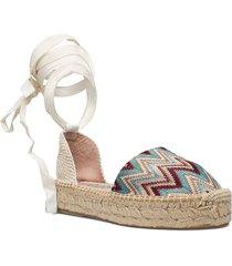 ya-al02-gr tonga sandaletter expadrilles låga multi/mönstrad wonders