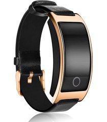 reloj de pulsera de monitor de ritmo cardíaco de presión arterial,oro