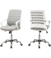monarch specialties office chair -mesh, multi position