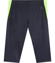 leggings deportivo corto color verde, talla xs