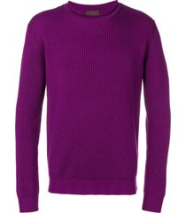 altea ribbed knit sweater - pink