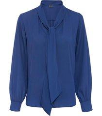 camicetta con fiocco (blu) - bodyflirt