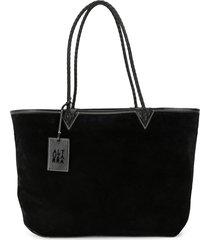 altuzarra reversible diy tote bag - black