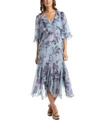 r & m richards floral-print dress & jacket