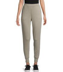 tart women's zuri stretch jogging pants - olive camo - size m
