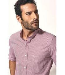 camisa aviator urban slim fit xadrez masculina