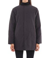 plantation black down coat