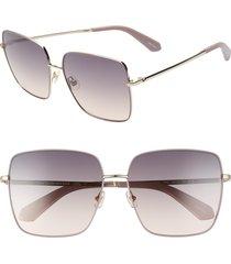 women's kate spade new york fenton 60mm gradient square sunglasses -