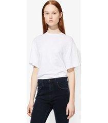 proenza schouler short sleeve t-shirt white xl