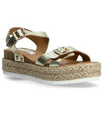 cam sandal sandaletter expadrilles låga silver steve madden