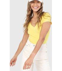 camiseta amarillo ambiance
