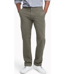 tommy hilfiger men's custom fit essential stretch chino nomad - 38/34