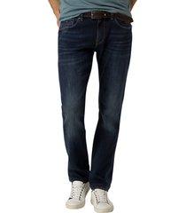 tomm hilfiger slim fit jeans donkerblauw