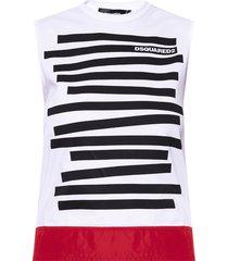sleeveless top with logo