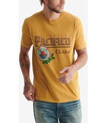 lucky brand men's pacifico gold tee