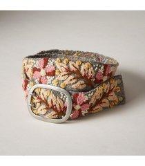 women's lillienna wool belt