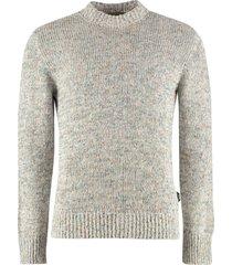 z zegna long-sleeved crew-neck sweater