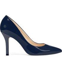 zapato de tacón de mujer fifth 9x93 nine west - negro
