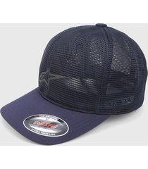gorra azul oscuro alpinestars