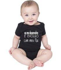 body bebe frases engraçadas evoluo com papai pai criativa urbana