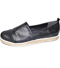 alpargata negra tamara shoes