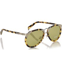 gucci square tinted sunglasses black sz: