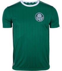 camiseta do palmeiras fardamento - masculina - verde/branco