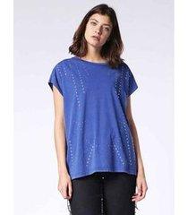 camiseta diesel t-hanx azul