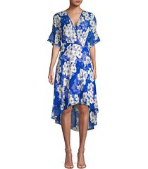 ava floral chiffon dress