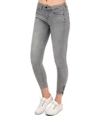 only womens kendell skinny jeans size 30r in grey